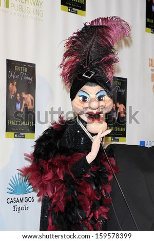 "MALIBU - OCT 21: Madame, Gary Holland at the ""Enter Miss Thang"" Book Launch Party at Cafe Habana on October 21, 2013 in Malibu, California"