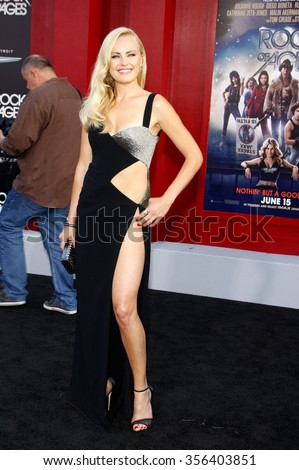 """Malin Akerman at the Los Angeles premiere of """"Rock of Ages"""" held at the Grauman's Chinese Theater in Los Angeles, CA. 8th June 2012.   - stock photo"""