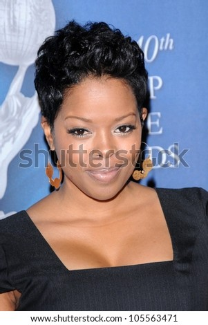 Malinda Williams at the 2009 NAACP Image Awards After Party. Beverly Hilton Hotel, Beverly Hills, CA. 02-12-09 - stock photo