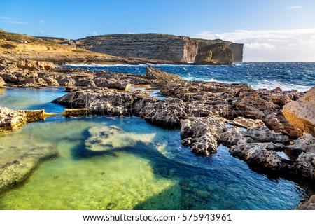 Limestone Quarry - Gozo, Malta Stock Image - Image: 38631785   Gozo Limestone