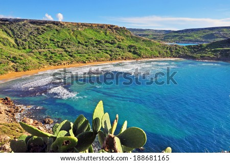 Malta nature - stock photo