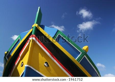 Maltese boat - stock photo