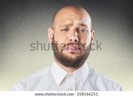 Man. - stock photo