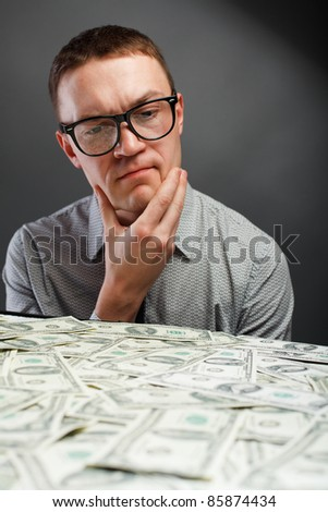 Man and money