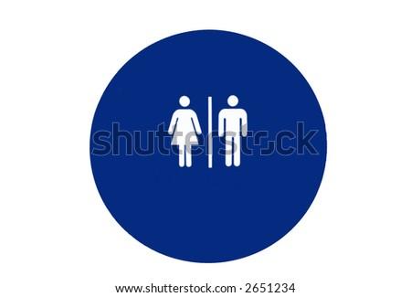 man and woman symbol - stock photo