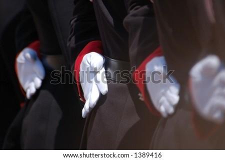 Man At Arms - stock photo