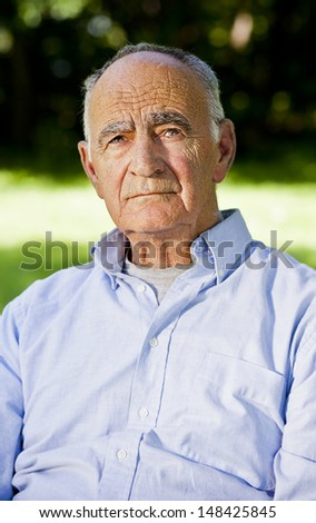 Man at the park - stock photo