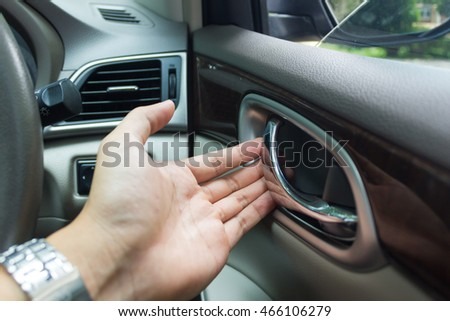 woman driving car stock photo 170930195 shutterstock. Black Bedroom Furniture Sets. Home Design Ideas