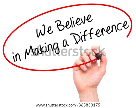 You Can Make A Difference Essay