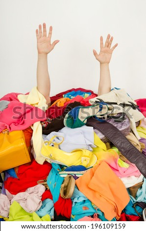 Pile Of Clothes Stock Images Royalty Free Images