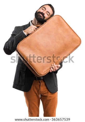 Man holding a briefcase