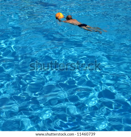 Young Athletic Man Working Out Swimming Stock Photo 59371969 Shutterstock