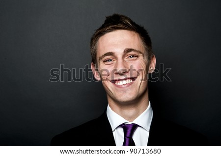 man in suit - stock photo
