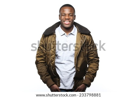 Man in winter coat