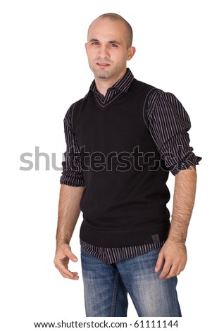 Man is angry - stock photo