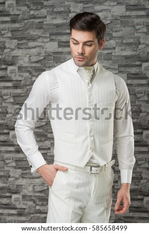 White Man Dress