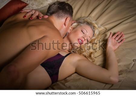 Rough sex guy on top girl