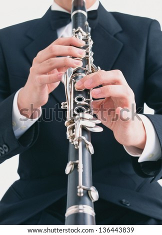 man playing - stock photo