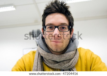 man portrait - stock photo