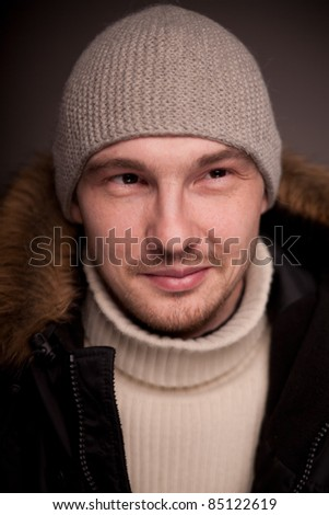 Man portrait. - stock photo