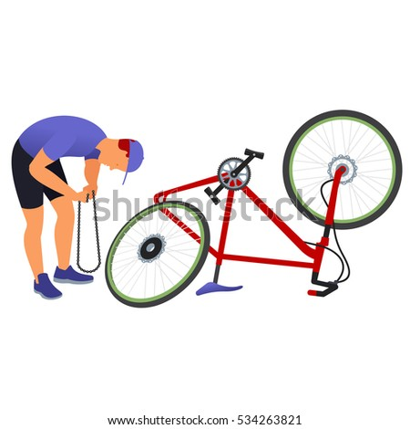 Flat bike tire stock images royalty free images vectors for Bike tire art