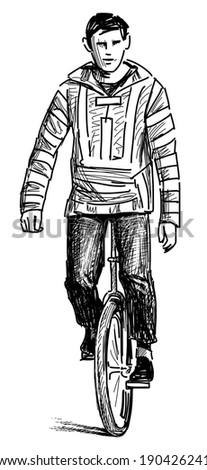 Bicycle Big Engine