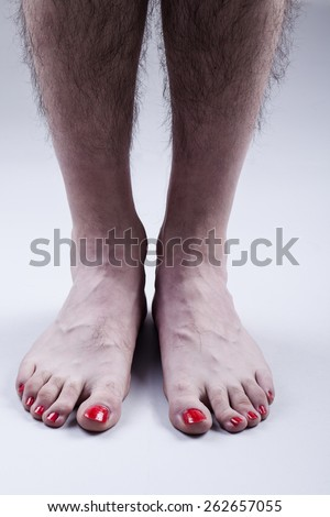 Female Hairy Legs
