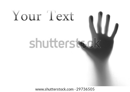 Man's Hand reaching out - stock photo