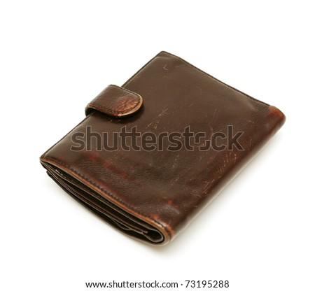man's leather wallet