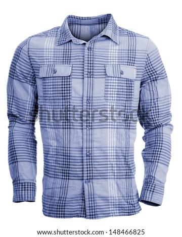 Man's long sleeve shirt - stock photo