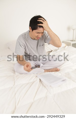 Man worried by contract