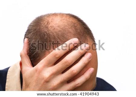 Man worrying - stock photo
