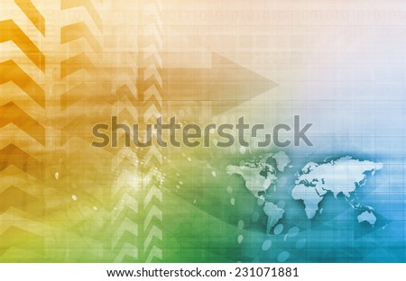 Management Consulting as a Abstract Concept Art - stock photo