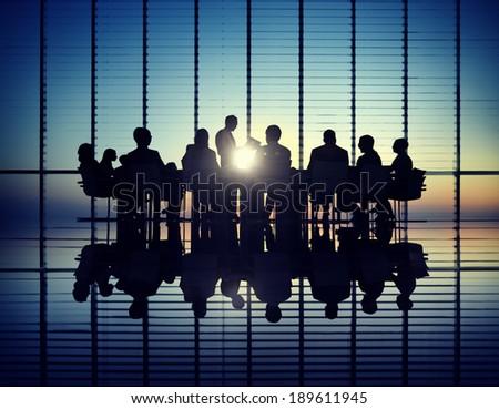 Management Team - stock photo