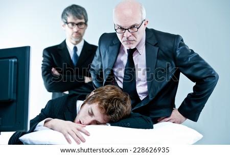 lazy female manager - photo #21