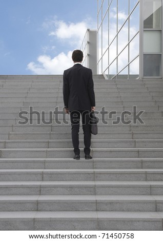manager go-getter career - stock photo