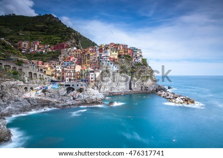 Manarola is a small town in the province of La Spezia, Liguria, northern Italy