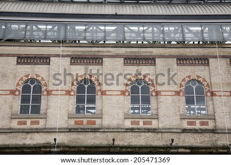 Manchester Piccadilly Railway Station Exterior Facade, England, Britain, UK