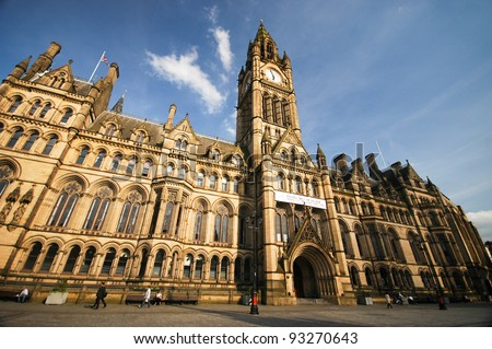 Manchester Townhall - stock photo