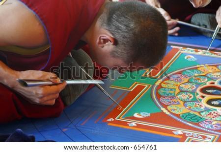 Mandala - stock photo