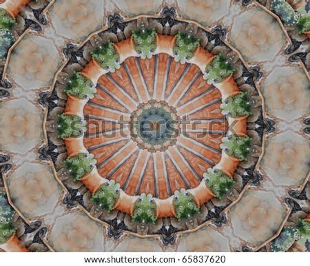 Mandala Background - stock photo