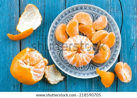 Mandarin orange - stock photo