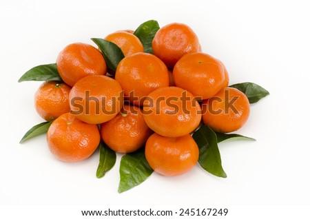 Mandarine, Tangerine - stock photo