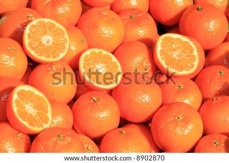 Mandarines - stock photo