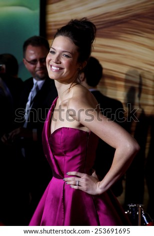 "Mandy Moore at the Los Angeles Premiere of ""Tangled"" held at the El Capitan Theater in Hollywood, California, United States on November 14, 2010."