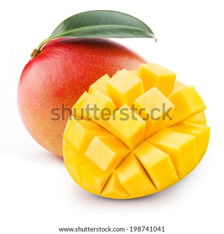 mango - stock photo