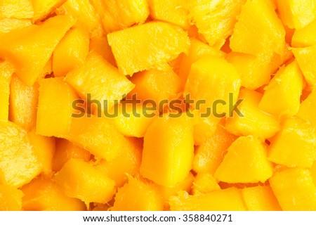 mango closeup texture - stock photo