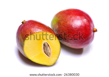 Mango isolated on a white background