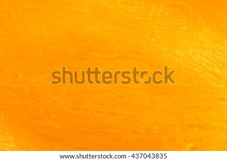 Mango peel close up, Delicious tropical juicy fruits abstract background concept. - stock photo