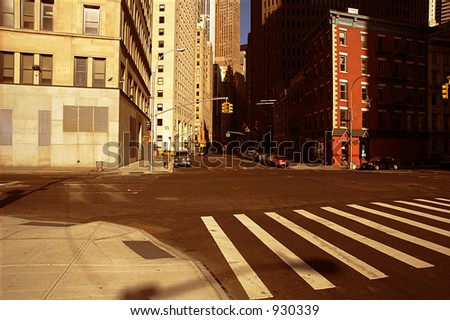 Manhattan - stock photo